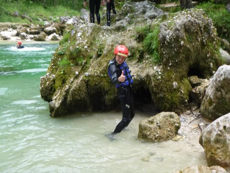 Rafting Göstling an der Ybbs