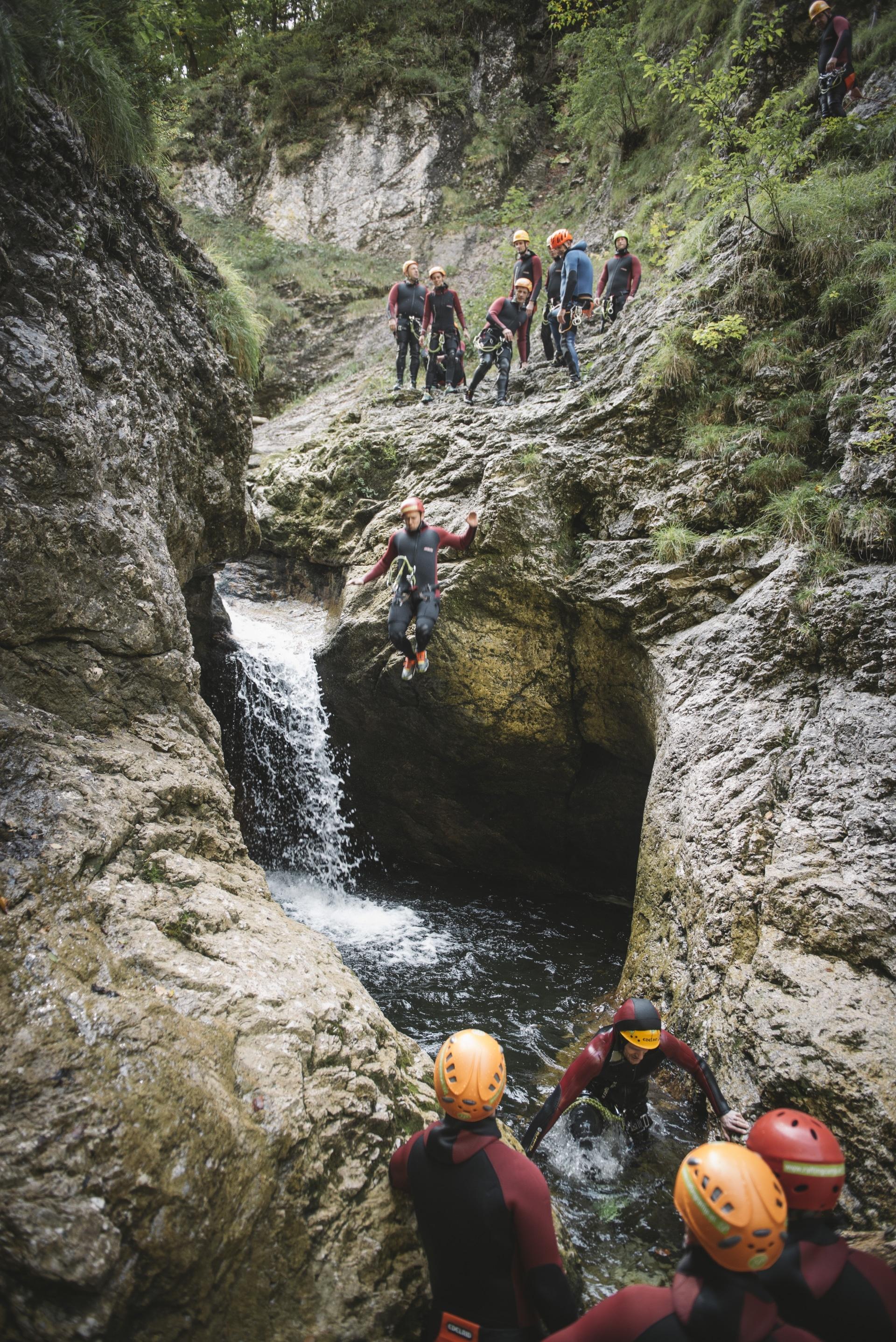 Canyoning Niederösterreich