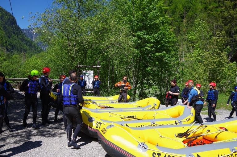 Rafting Betriebsausflug