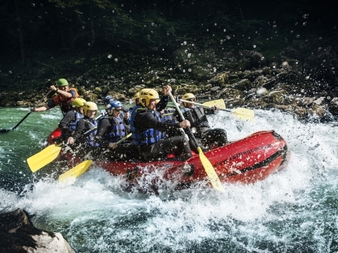 Rafting SalzaHalbtagestour