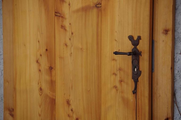 Tür zum Bettenlager
