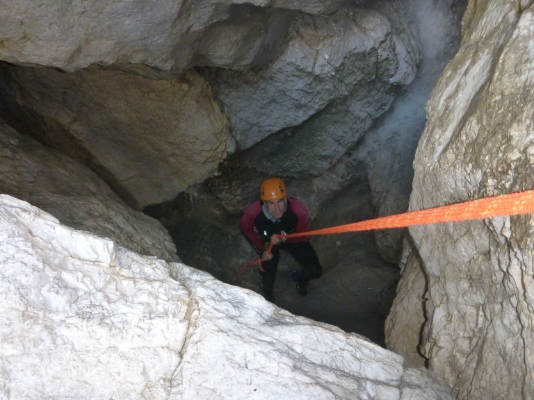 Bruckgraben Canyoning