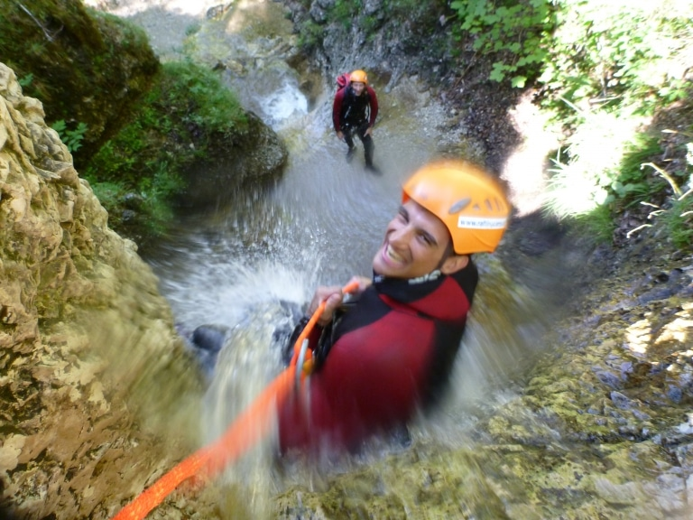 Canyoning Erb