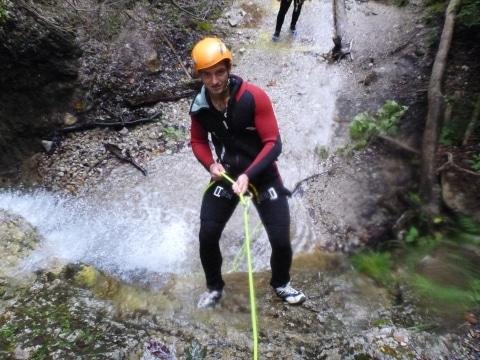Canyoning am Erb