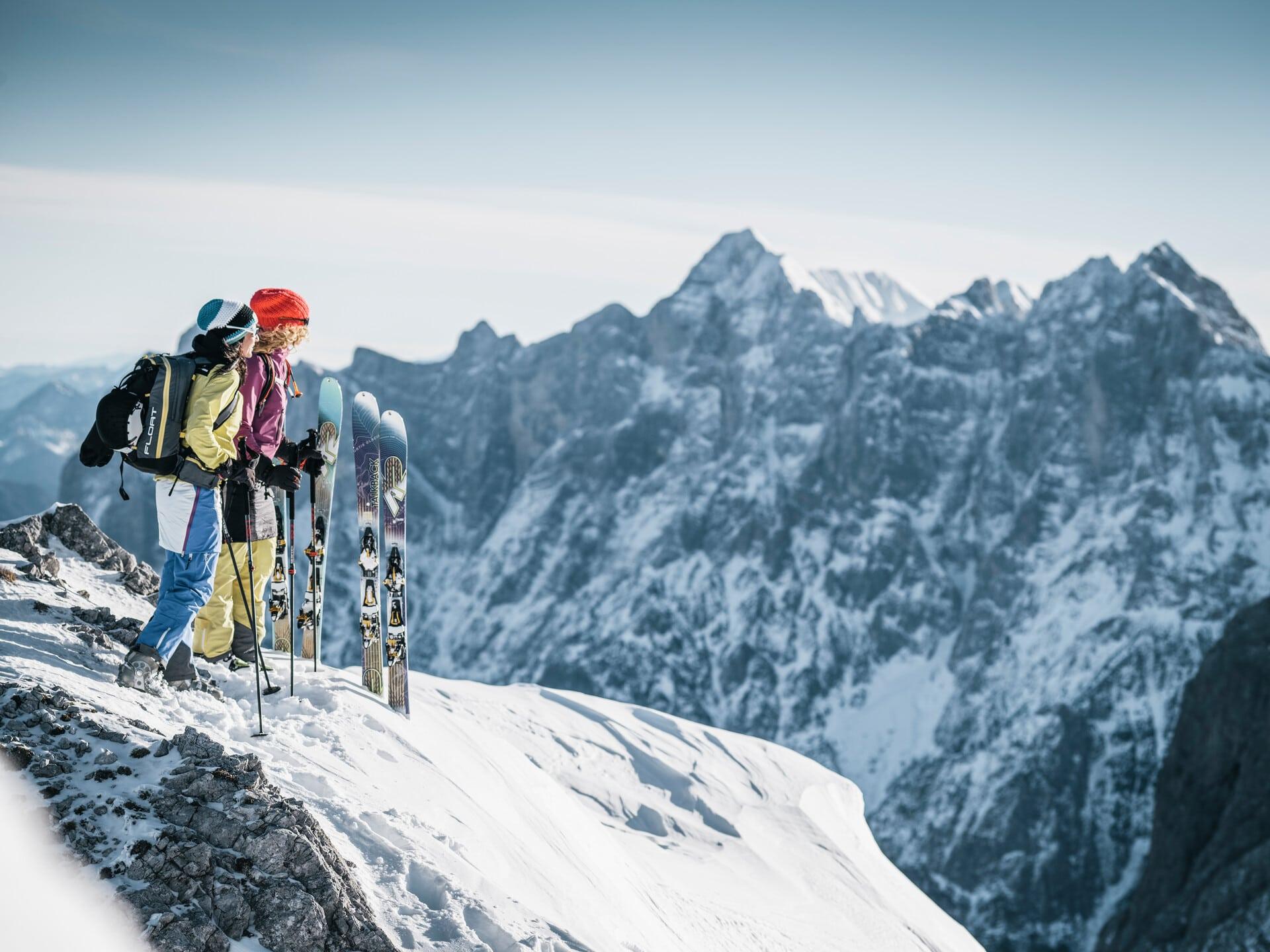 Skitour im Xeis