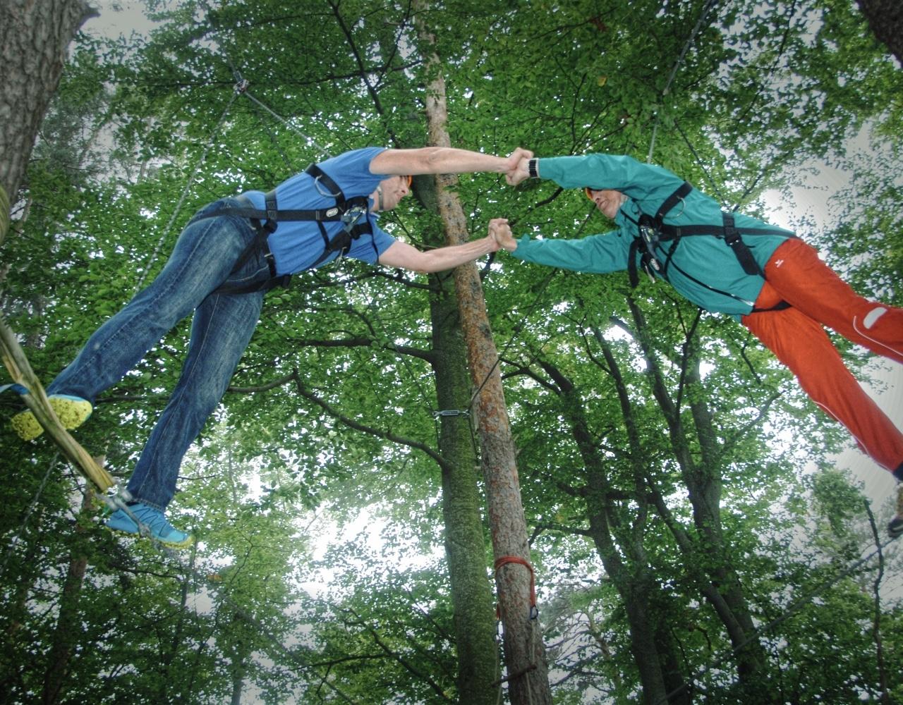 Teamtraining Wald
