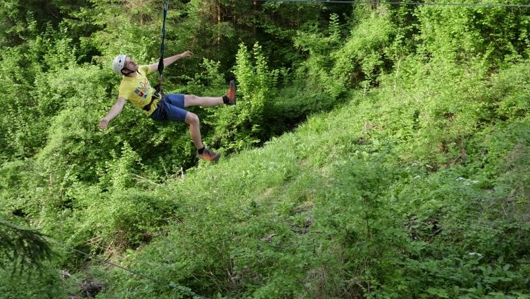 Flyingfox-Strecke