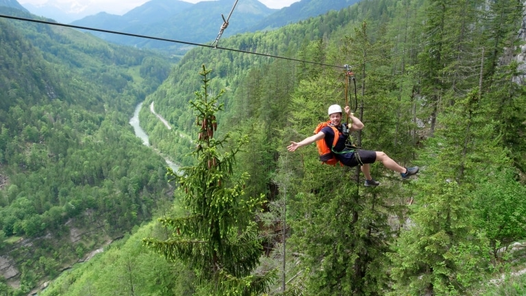 Flying Fox Klettersteig