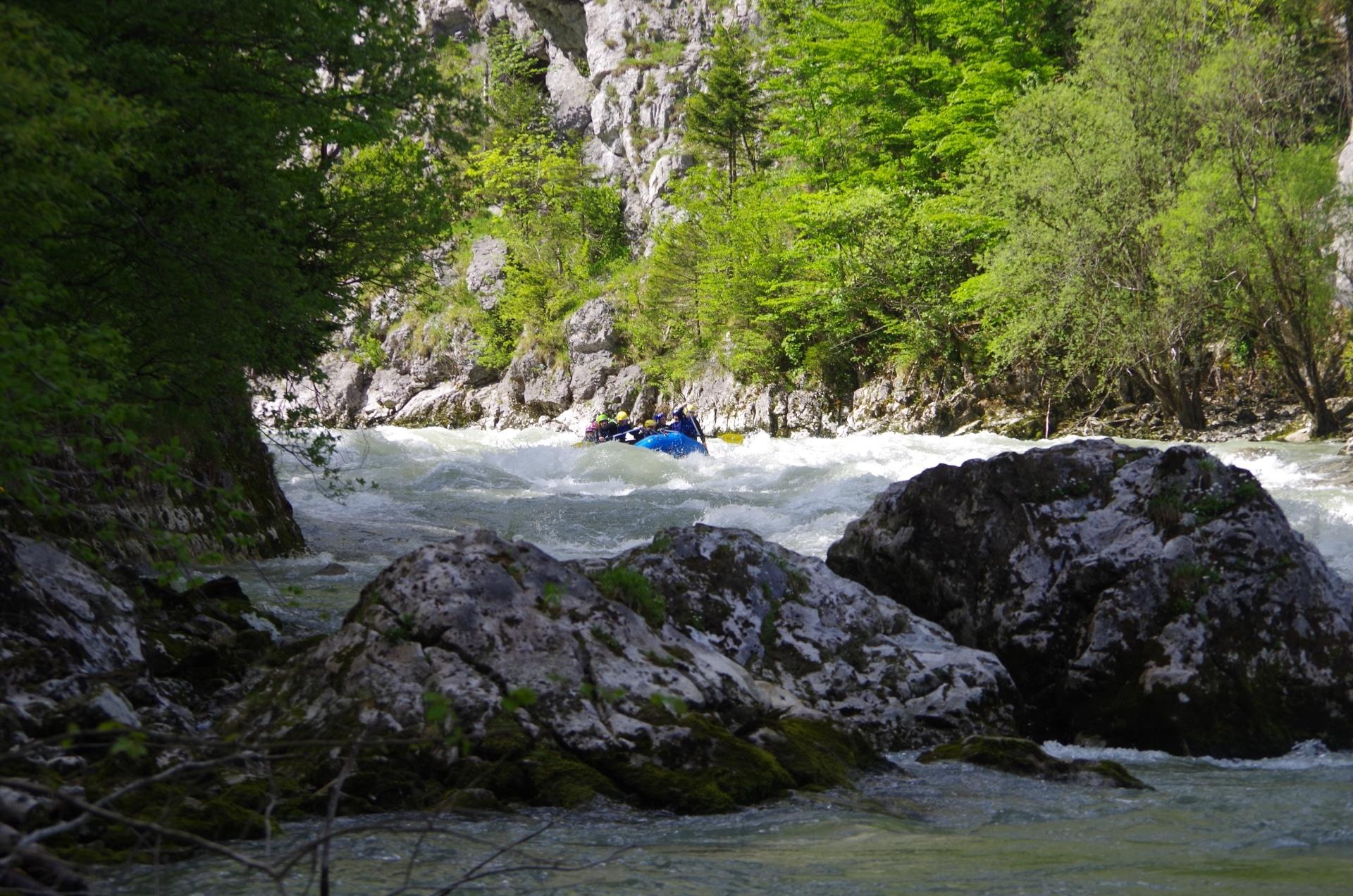 Rafting Gesäuse Eingang Johnsbach