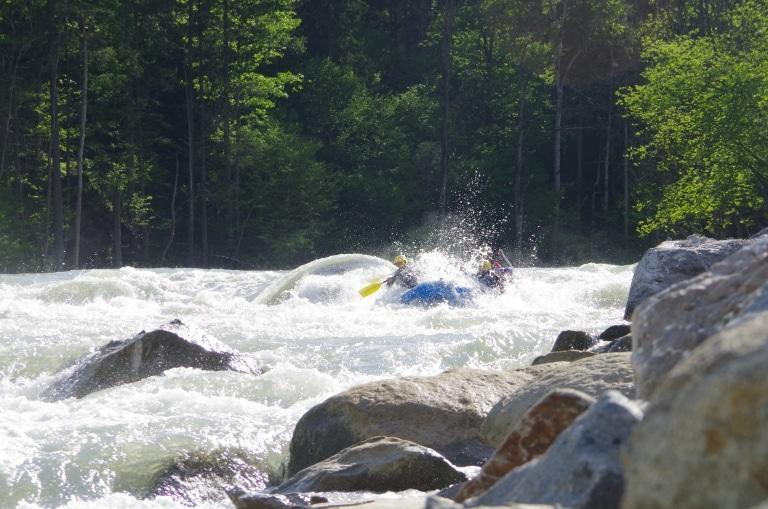 Rafting im Gesäuse