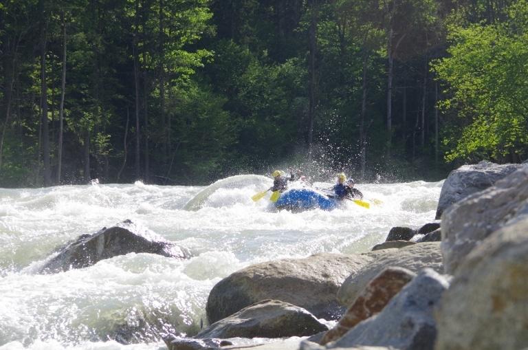 Rafting Enns Gstatterboden