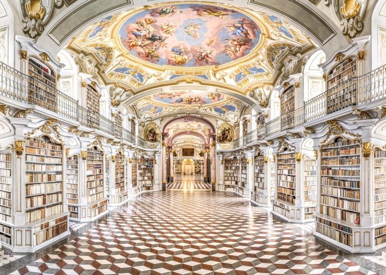 Stiftsbibliothek im Stift Admont