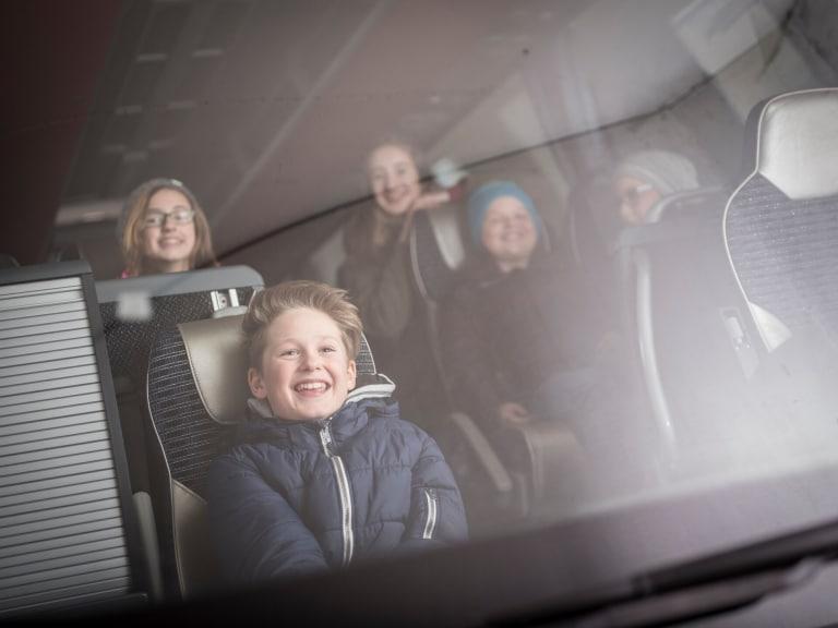 Anreise mit dem Bus ins Gesäuse