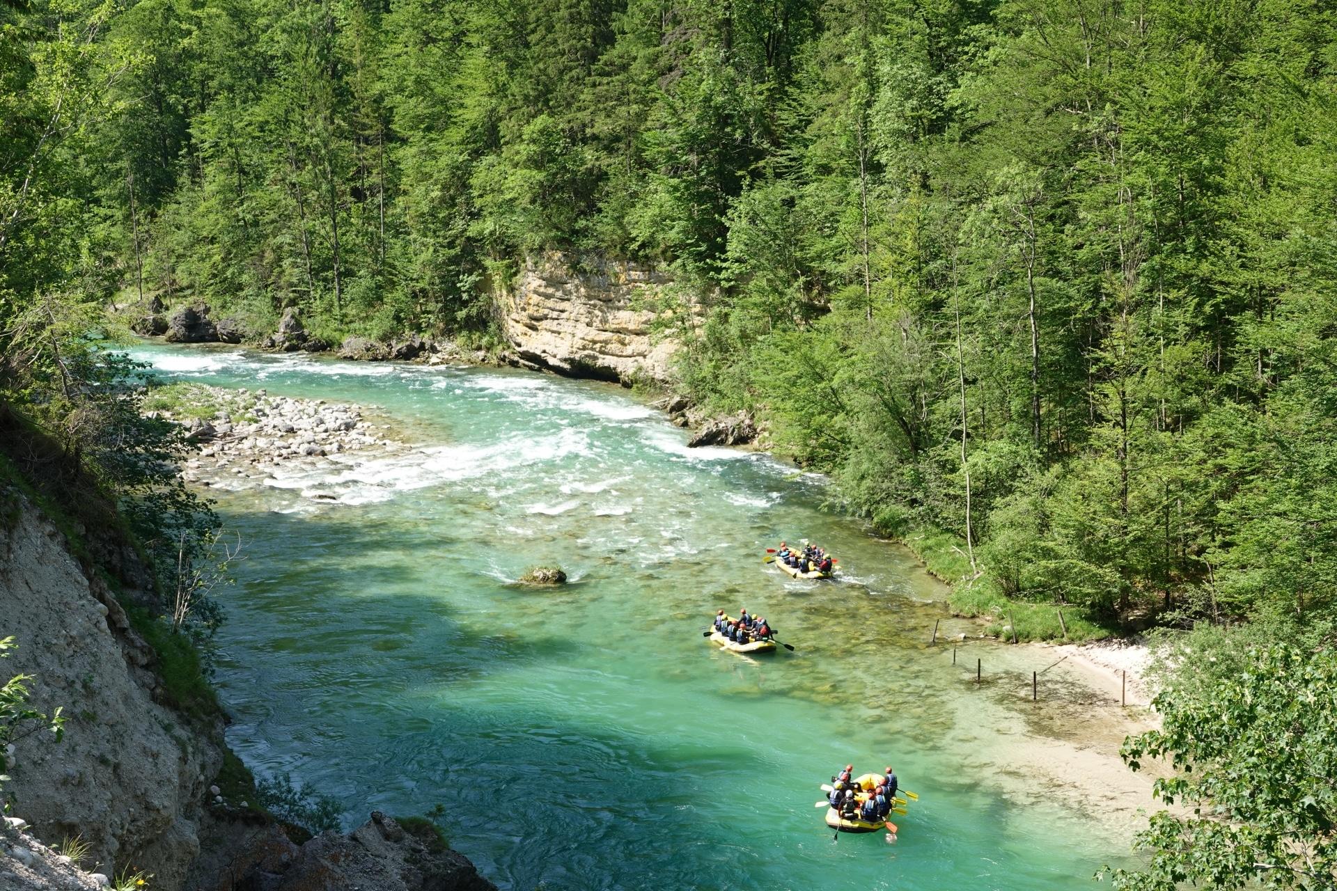 Rafting Niederösterreich/Göstling